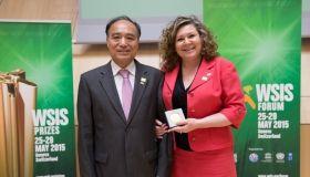 Złoty Medal Sekretarza Generalnego ITU dla Prezesa UKE